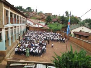 Scuola secondaria a Muhungo